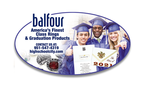 Connect to Balfour for class ring & graduation products!